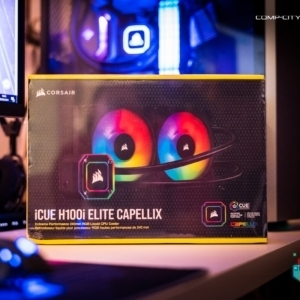 Corsair iCUE H100i 240mm Elite Capellix AIO competition