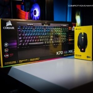 Corsair K70 Keyboard & M65 Mouse